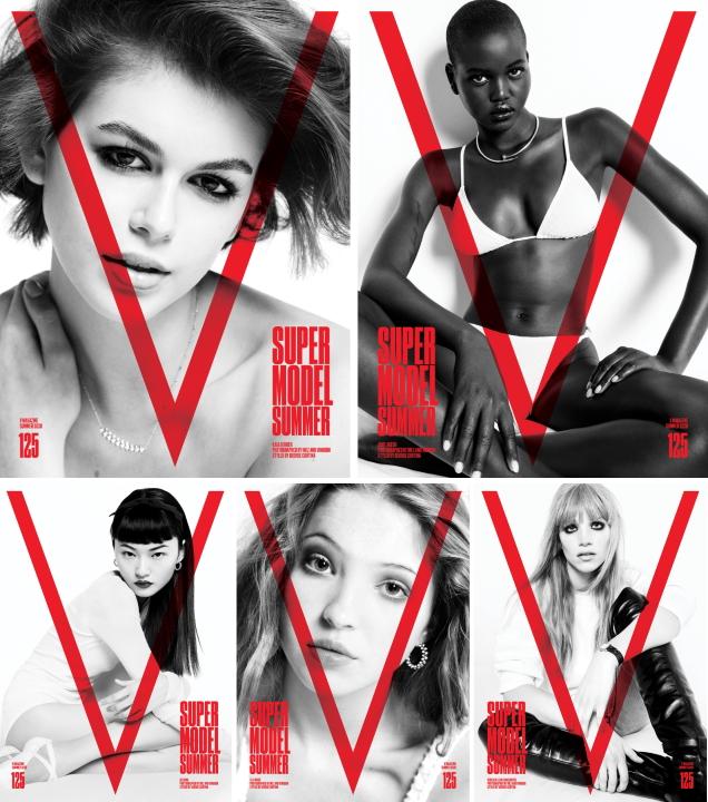 V Magazine #125 Summer 2020 by Inez van Lamsweerde & Vinoodh Matadin