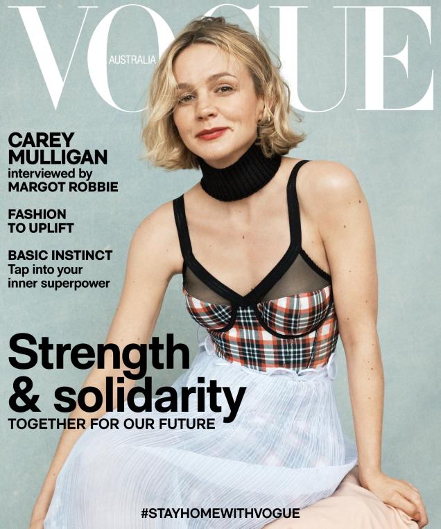 Vogue Australia May 2020 : Carey Mulligan by Josh Olins