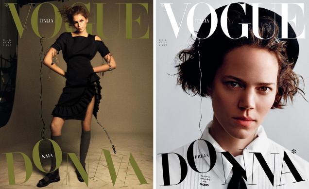 Vogue Italia May 2020 by Karim Sadli, Alasdair McLellan, Ryan McGinley & Harley Weir