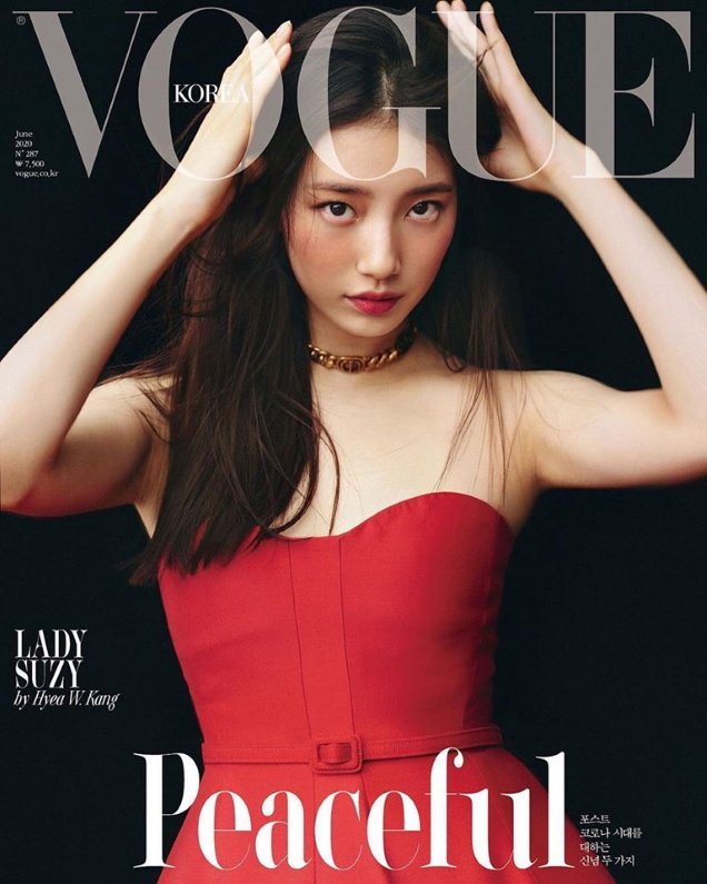 Vogue Korea June 2020 : Suzy & Hyun Ji Shin by Hyea W. Kang
