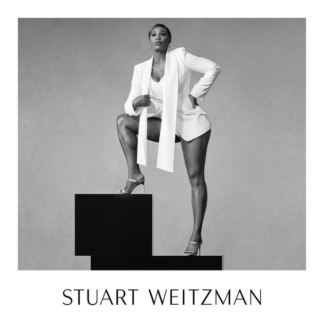 Stuart Weitzman S/S 2020 : Serena Williams by Ethan James Green
