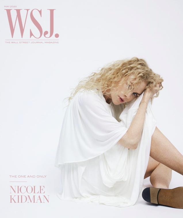 WSJ Magazine May 2020 : Nicole Kidman by Bibi Borthwick