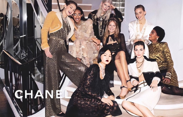 Chanel Pre-Fall 2020 by Melodie McDaniel