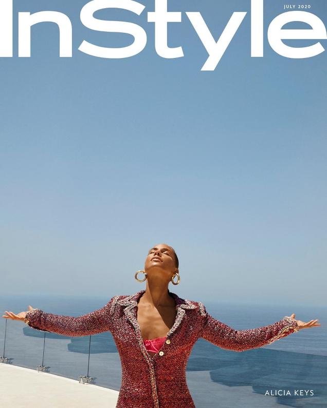 US InStyle July 2020 : Alicia Keys by Egypt & Genesis