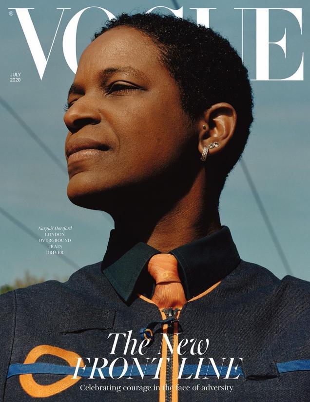 UK Vogue July 2020 by Jamie Hawkesworth