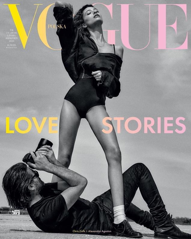Vogue Poland July/August 2020 : Alexandra Agoston by Chris Colls