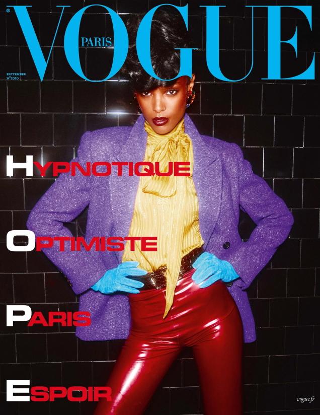 Vogue Paris September 2020 : Malika Louback by Mikael Jansson