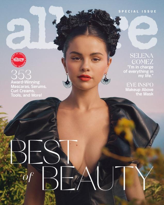 Allure October 2020 : Selena Gomez by Micaiah Carter