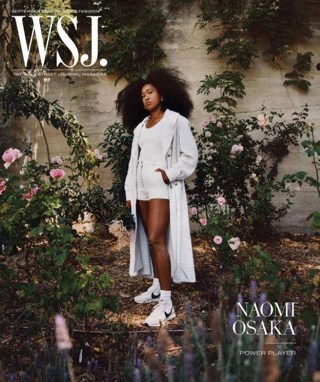 WSJ. Magazine September 2020 : Naomi Osaka by Micaiah Carter