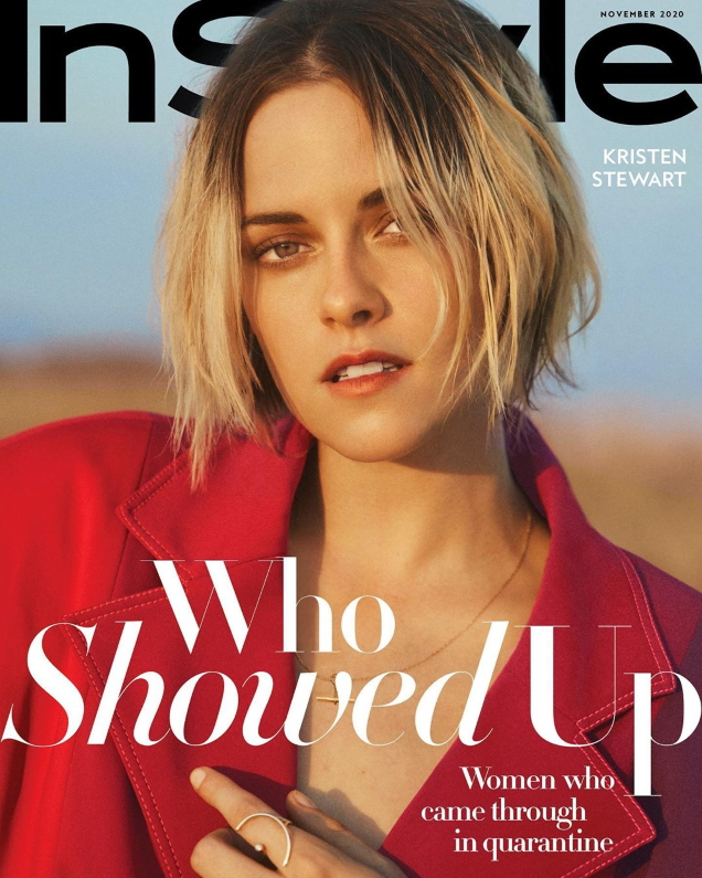 US InStyle November 2020 : Kristen Stewart by Olivia Malone