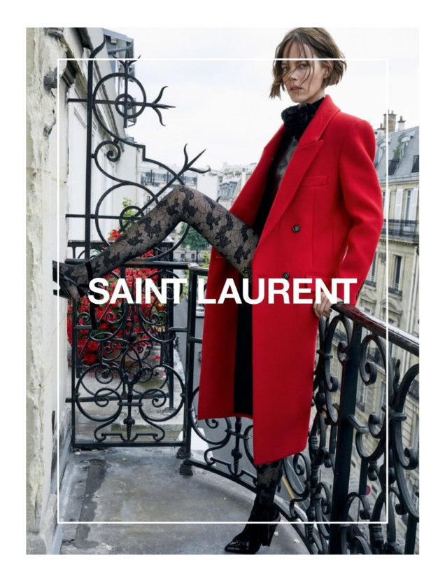 Saint Laurent F/W 2020.21 : Freja Beha Erichsen, Laetitia Casta & Debra Shaw by Juergen Teller