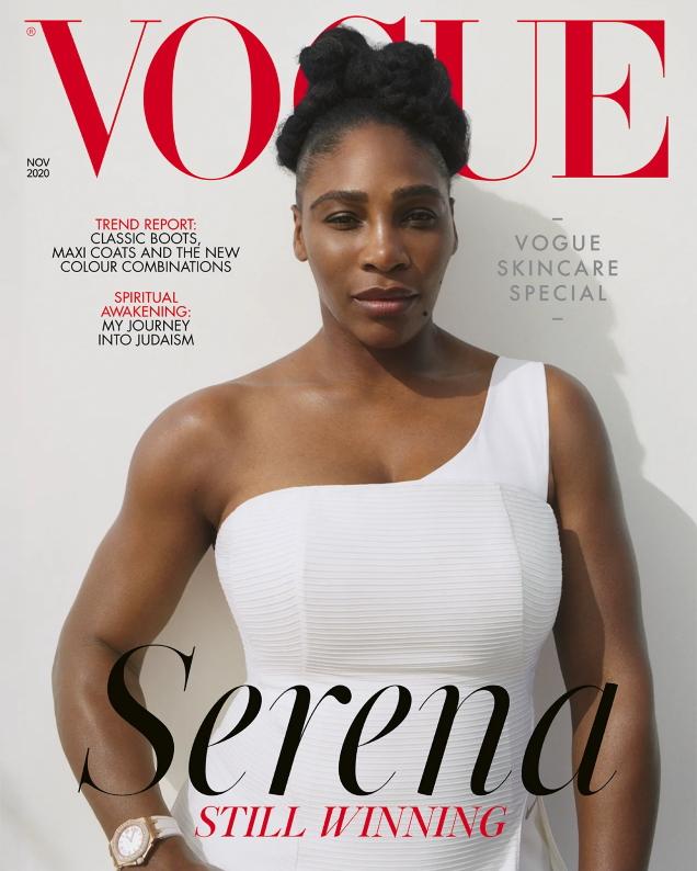 UK Vogue November 2020 : Serena Williams by Zoe Ghertner