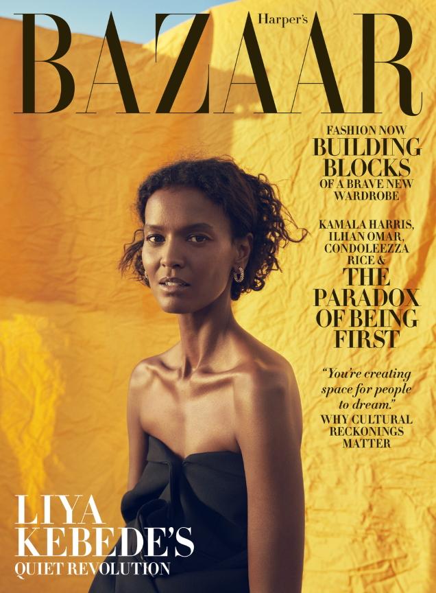 US Harper's Bazaar November 2020 : Liya Kebede by Christopher Anderson