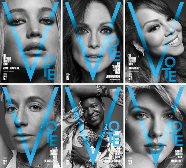 V Magazine #127 Winter 2020 by Inez van Lamsweerde & Vinoodh Matadin