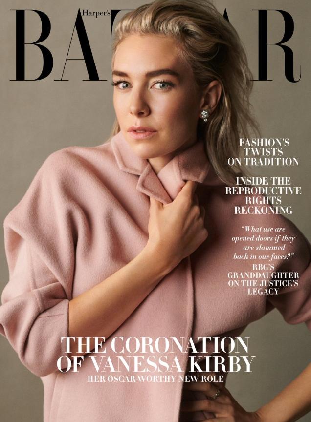 US Harper's Bazaar December 2020/January 2021 : Vanessa Kirby by Scott Trindle
