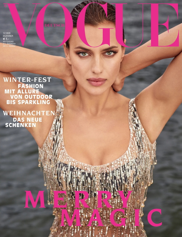 Vogue Germany December 2020 : Irina Shayk by Luigi & Iango