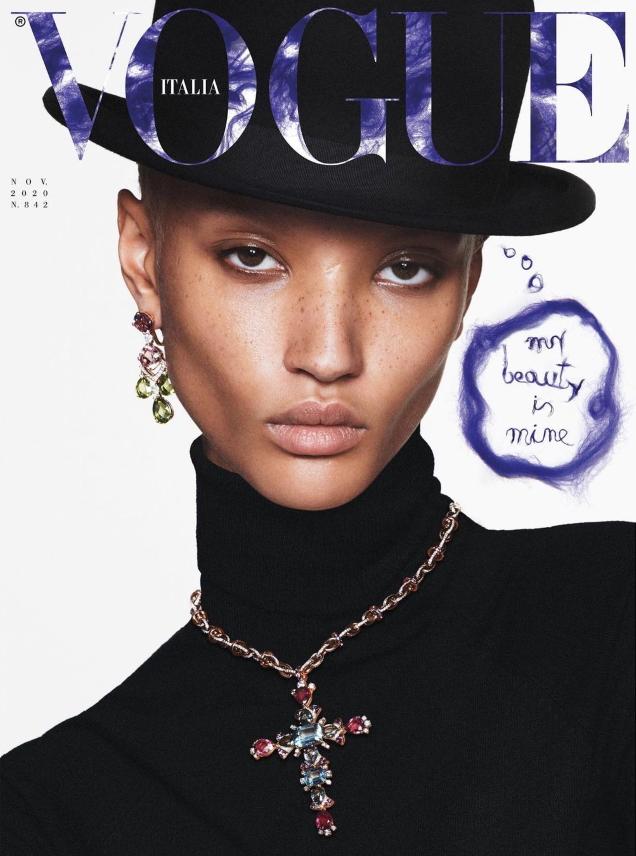Vogue Italia November 2020 : Alex Andrews & Georgia Palmer by David Sims