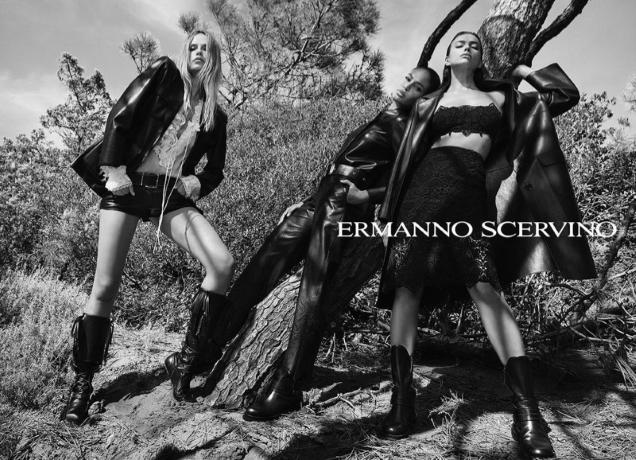 Ermanno Scervino S/S 2021 : Natasha Poly, Irina Shayk & Joan Smalls by Luigi & Iango