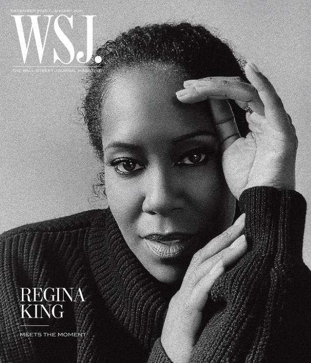 WSJ. Magazine December 2020/January 2021 : Regina King by Alexandra Leese