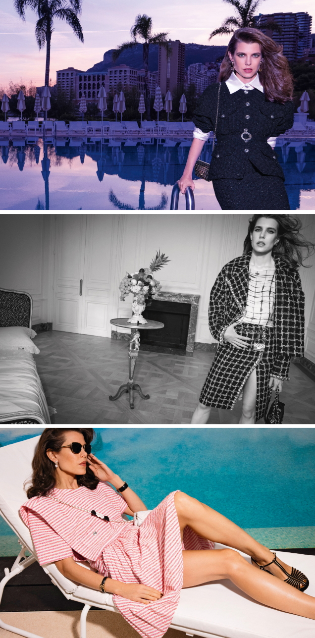 Chanel S/S 2021 : Charlotte Casiraghi by Inez van Lamsweerde & Vinoodh Matadin