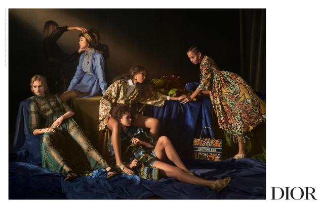 Christian Dior S/S 2021 by Elina Kechicheva