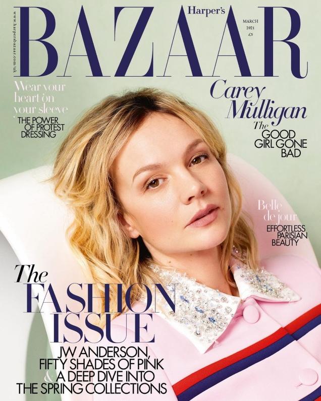 UK Harper's Bazaar March 2021 : Carey Mulligan by Quentin Jones