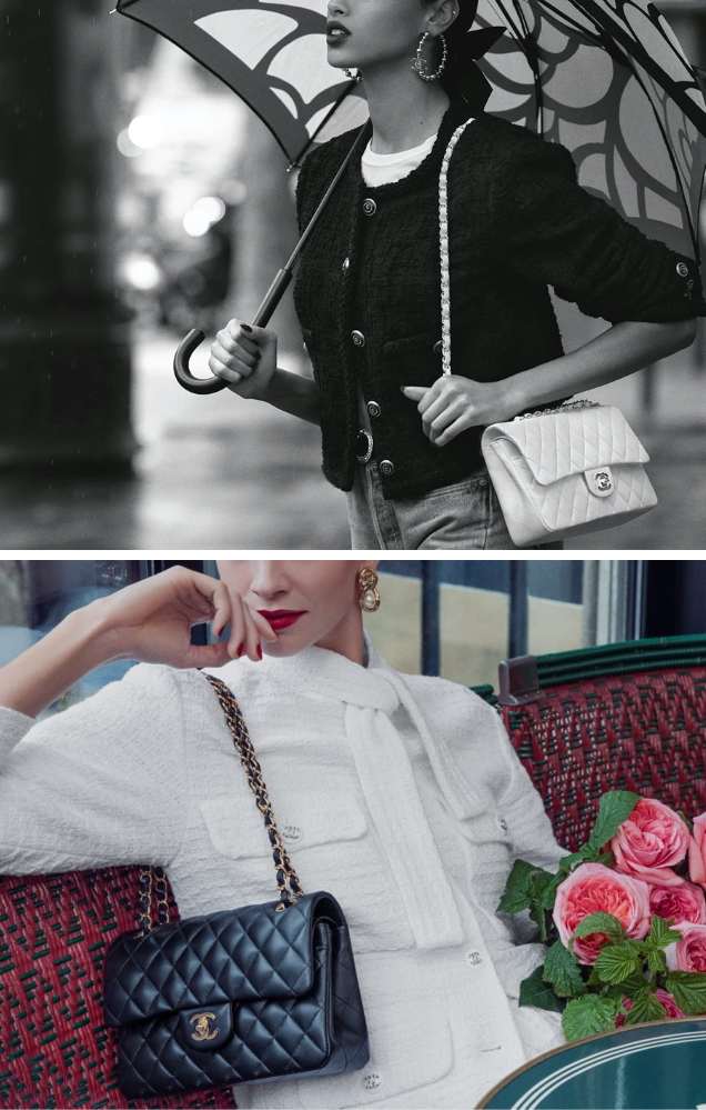 Chanel Handbags 2021 by Inez van Lamsweerde & Vinoodh Matadin