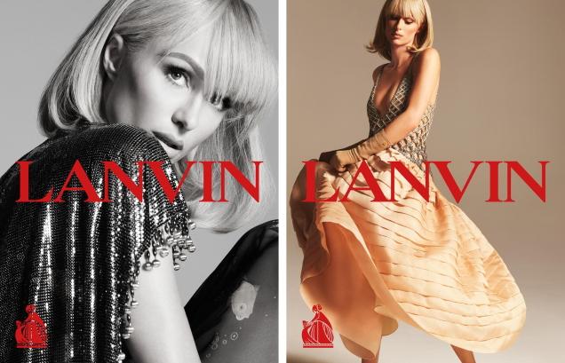 Lanvin S/S 2021 : Paris Hilton & Sherry Shi by Mert Alas & Marcus Piggott