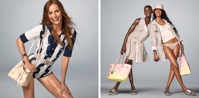 Louis Vuitton 'Summer by the Pool' 2021 : Rianne, Jade, Akon, Ashley & Ida by Steven Meisel