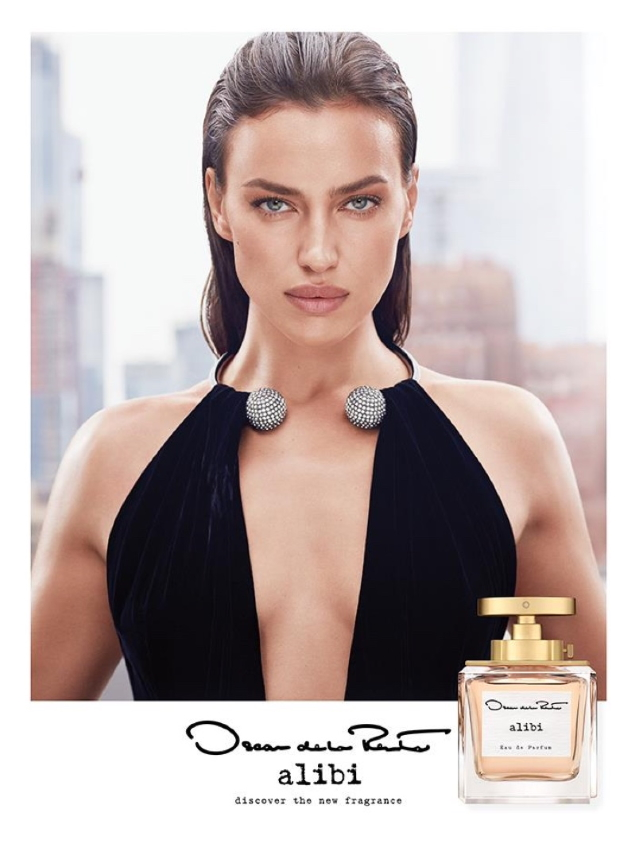 Oscar de la Renta 'Alibi' Fragrance 2021 : Irina Shayk by Luigi & Iango