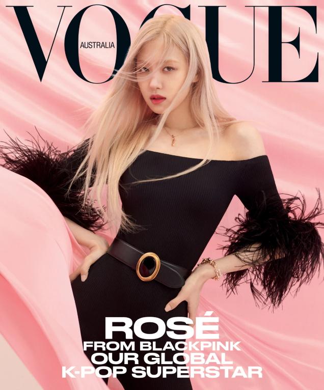 Vogue Australia April 2021 : Rosé by Peter Ash Lee