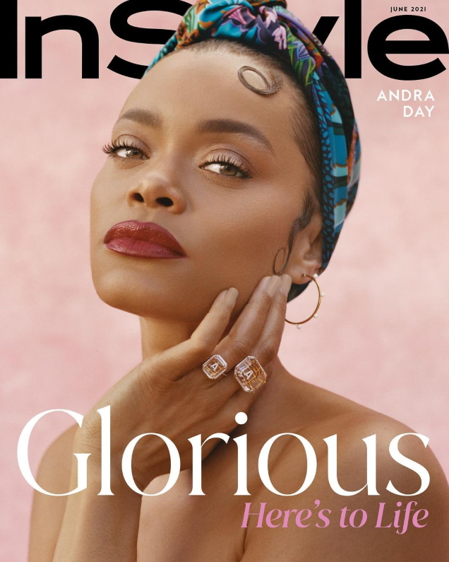 US InStyle June 2021 : Andra Day by Chrisean Rose