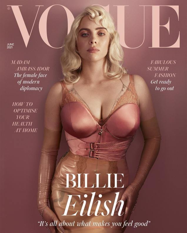 UK Vogue June 2021 : Billie Eilish by Craig McDean