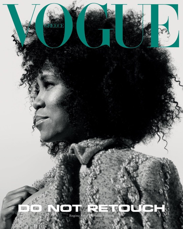 Vogue Greece May 2021 : Regina King by Sonia Szóstak