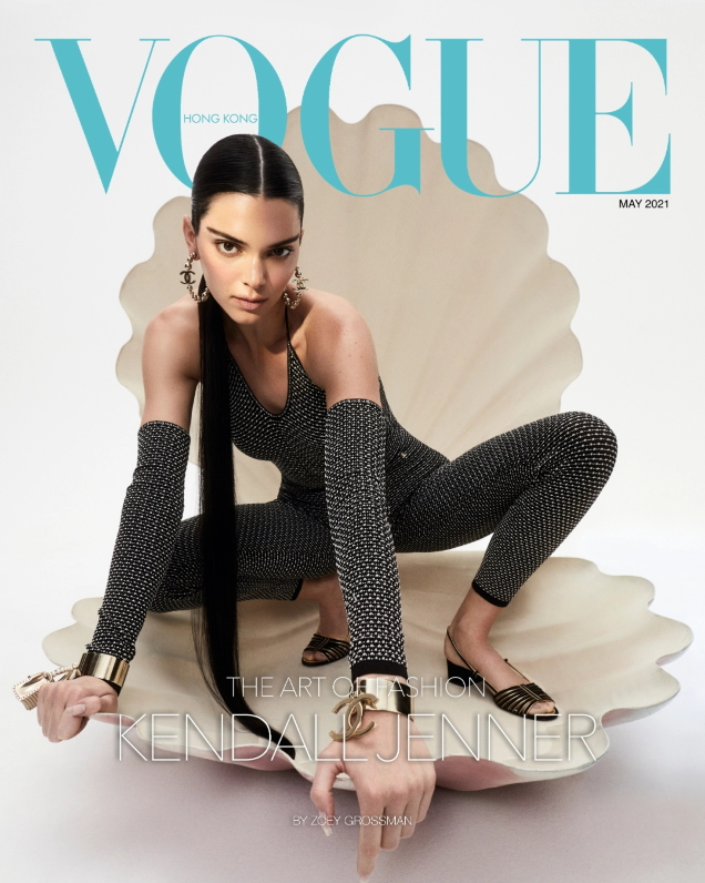 Vogue Hong Kong May 2021 : Kendall Jenner by Zoey Grossman
