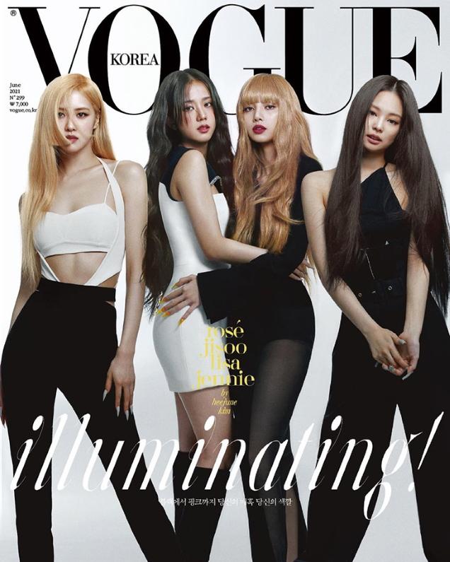 Vogue Korea June 2021 : BLACKPINK by Kim Hee June