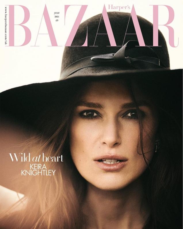 UK Harper's Bazaar July 2021 : Keira Knightley by Boo George