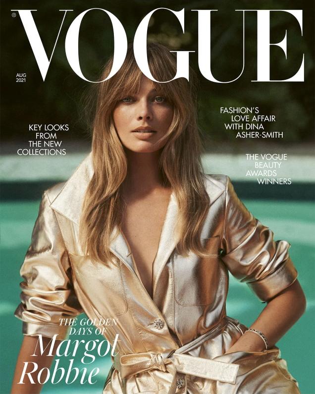 UK Vogue August 2021 : Margot Robbie by Lachlan Bailey