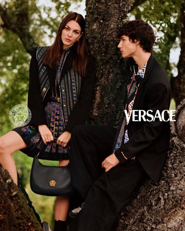 Versace Pre-Fall 2021 by Alasdair McLellan