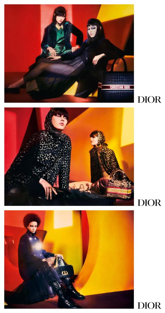 Christian Dior F/W 2021.22 : Steinberg, Sade, Maryel & Essoye by Elizaveta Porodina