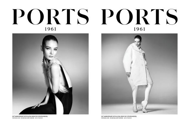 Ports 1961 F/W 2021.22 : Alyda, Achenrin & Lexi by Steven Meisel