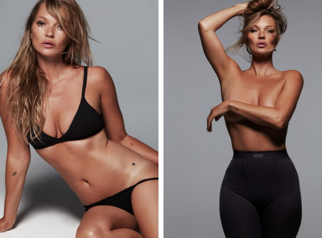 Skims S/S 2021 : Kate Moss by Donna Trope