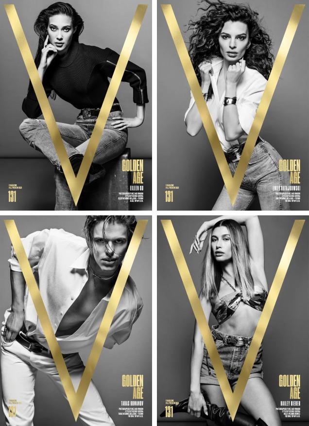 V Magazine #131 Fall Preview 2021 by Inez van Lamsweerde & Vinoodh Matadin