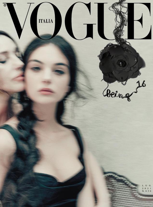 Vogue Italia July 2021 : Monica Bellucci & Deva Cassel by Paolo Roversi