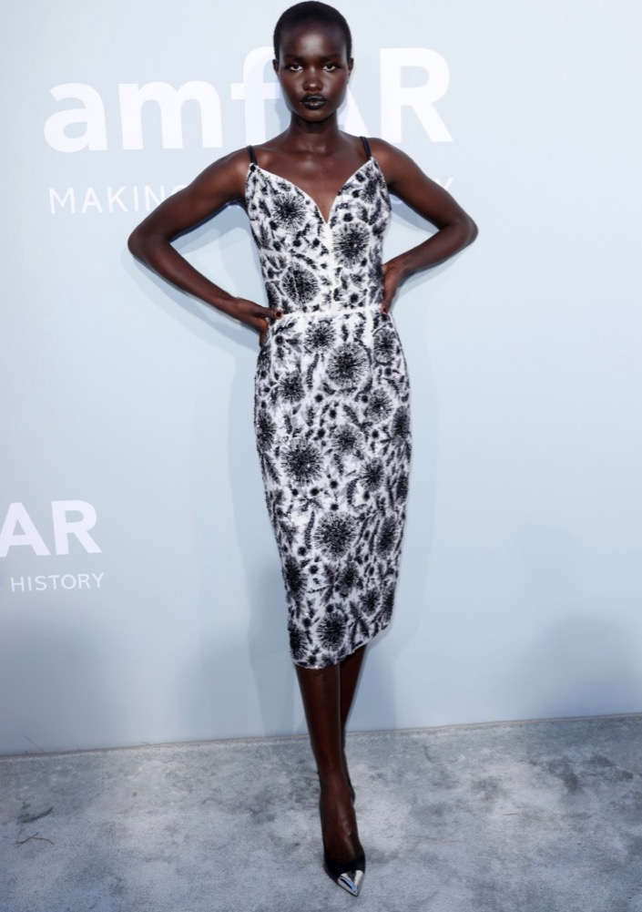 Akon Changkou at the 2021 amfAR Gala Cannes