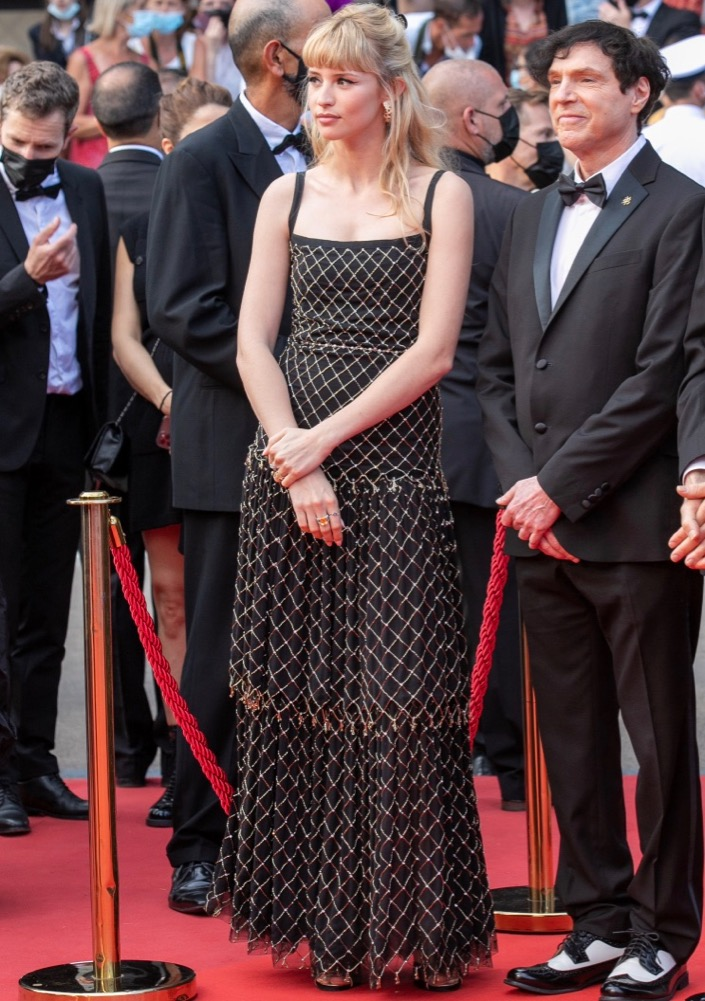 Angèle at the Opening Ceremony and Premiere of Annette