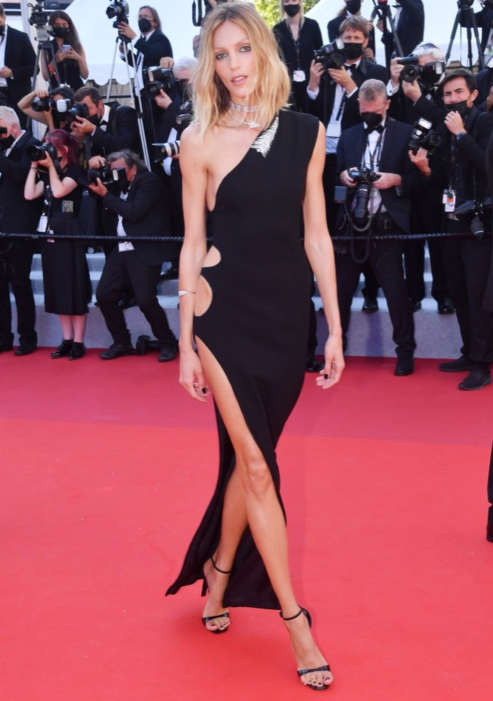 Anja Rubik at the Premiere of Benedetta