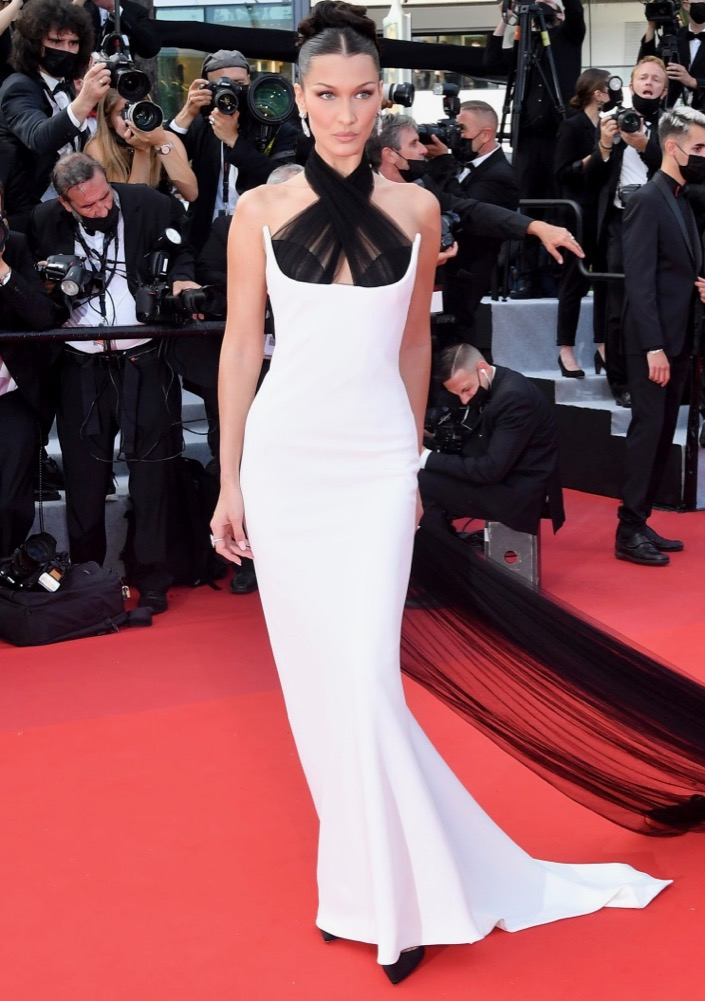 Bella Hadid at the Opening Ceremony and Premiere of Annette