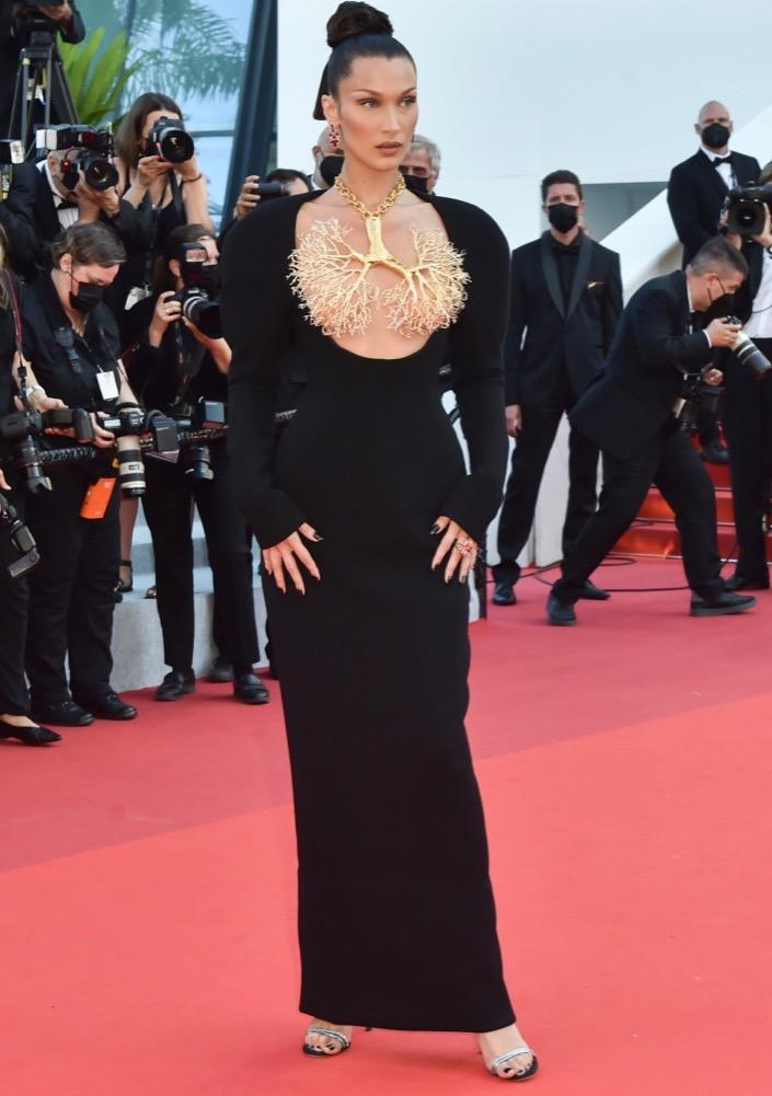 Bella Hadid at the Premiere of Tre Piani