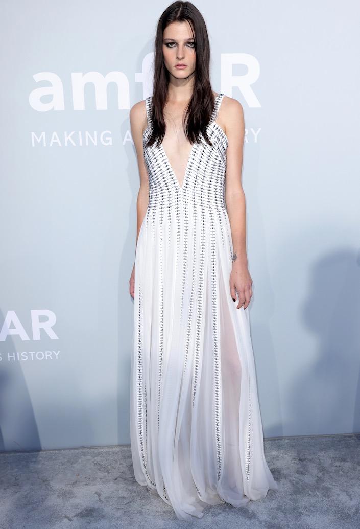 Effie Steinberg at the 2021 amfAR Gala Cannes